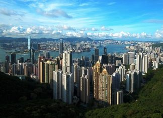 In Hong Kong, many real estate investors are shifting from core to non-core locations. (Photo/Wikipedia Commons)