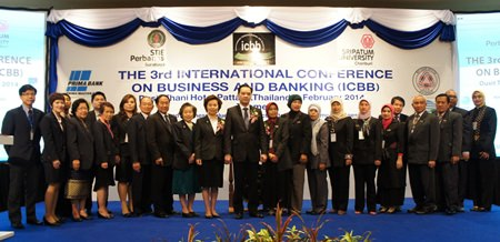International banking was the focus when academics from Thailand and Indonesia met recently in Pattaya.