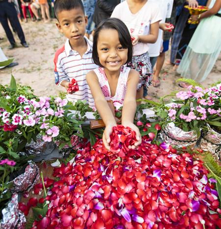 Valentine's Day this year will be a special one for the children of Baan Jing Jai when their dream of a new home comes one step closer to reality. (Photo by G.Gaou)