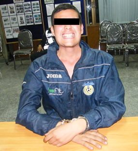 This 17-year-old German-Thai was taken into custody after falling onto a neighbor's roof with marijuana in his pocket.