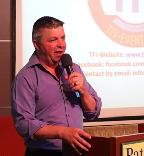 Pattaya identity, Paul Strachan, one of the founders of the TFi (Thai Farang Initiative) was the guest speaker at Pattaya City Expats Club on 26th of January. Paul's topic was how fundraising for charity can be fun, as well as helping the less fortunate.