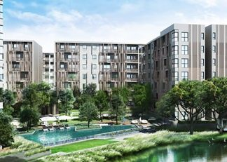 The Issara Chiangmai will have 570 units in 4 low-rise buildings with a large central green area on 6.5 rai of land on the 2nd ring road.