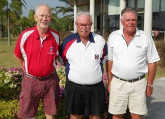 Kaj Aabling and Kjeld Ravn with Dave Richardson.
