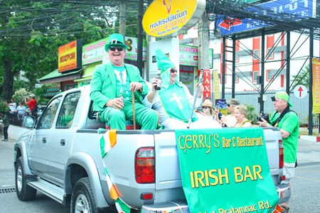 St Patrick himself hitched a ride with Gerry's.