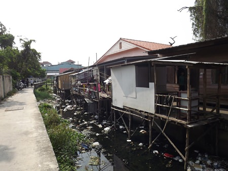 City officials say they will not only clear out the rubbish and sediment from the canal, but also order unlicensed structures built over the canal that block the water flow, to be demolished.