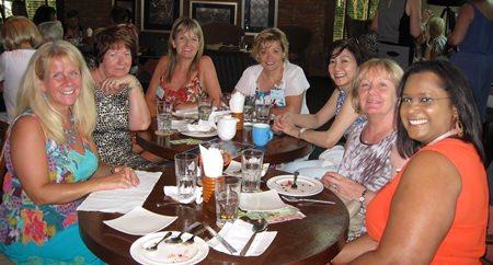 PILC members enjoying lunch at the Havana Bar.