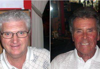 Tony Molloy and Frank Hughes.