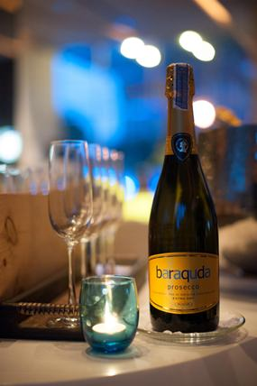 Premium Prosecco at dusitD2 baraquda Pattaya.