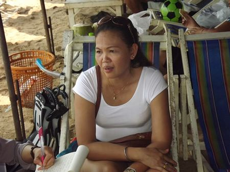 Pawilai from Udon Thani says the holiday is much different here in Pattaya than in her home town.