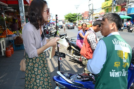"Motorbike taxi rider Anuchan Oangram: ""I don't really understand why they don't speak English…"""
