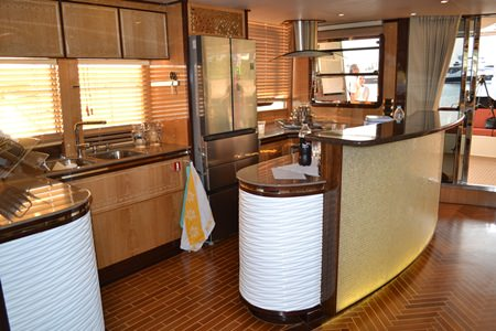 The Heliotrope is outfitted with beautiful and luxurious furnishings.