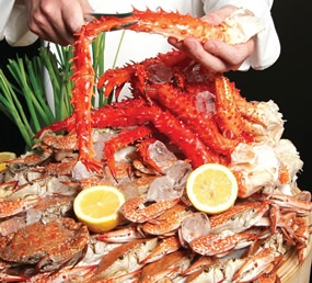 Friday Crab Feast at Dusit Thani Pattaya.