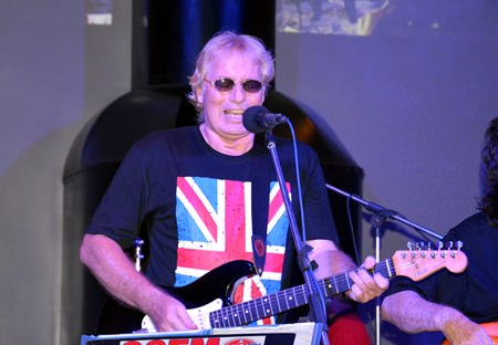 Barry Upton belts out another best of British hit.