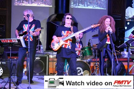 The six-piece band performed 30 songs by stars of the British music industry.