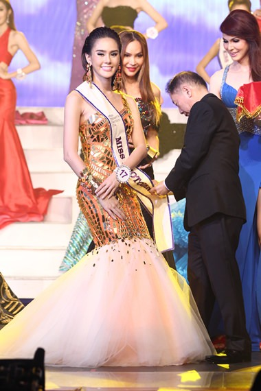 Overall third and winner of the Miss Photogenic award was Trithipnipa Thippaphada.