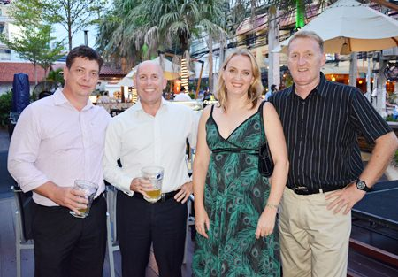 (L to R) Cris Van Der Merwe, General Manager of Futuris Automotive (Thailand) Co., Ltd.; David Chuter, Executive Manager, Business Development of Futuris Automotive (Thailand) Co., Ltd.; Ursula South of Futuris and Richard South.