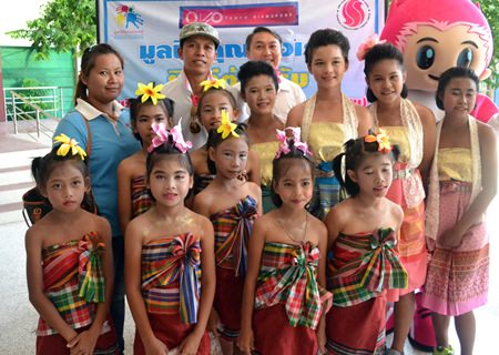 The young dancers from the Father Ray Children's Village.