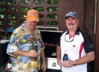 Justin Rapp's Just Burgers Metro hosted the fun at his Jomtien Condotel location.