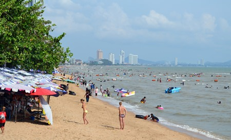 Local beaches were packed to the brim on Labor Day.