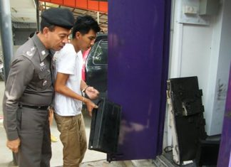 Tanongsak Boonket is the third man arrested for last month's robbery of a Sukhumvit Road automated-teller machine.