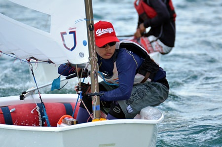 Thailand is producing more and more champion junior sailors in the worldwide Optimist series.