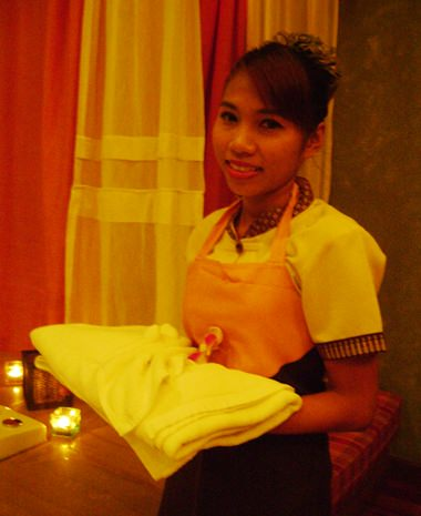 Service with a smile – Avarin Spa style.