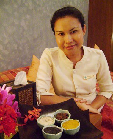 Avarin Spa manager - Nainapa Sirilert.