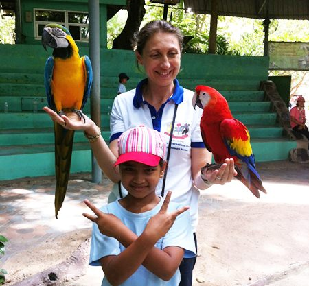 GIS students enjoyed a trip to Khao Kheow Open Zoo.