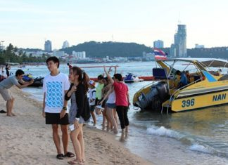 With tourism levels at dramatic lows, the district government is focusing on cleaning up a perceived drug problem in the tourism sector, along with cleaning up Pattaya Beach, governing prices of various products and putting an end to extortion incidents by jet ski operators.