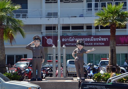 The military has removed Pattaya's police chief and two of the region's top commanders from office.