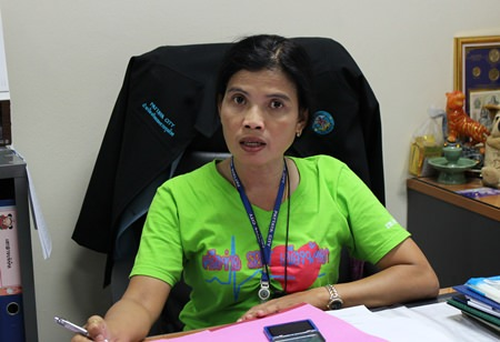 Disease-prevention office head Anya Jantragard has been working together with local radio stations, cable TV operations and print media to publicize the availability of the free rabies shots.
