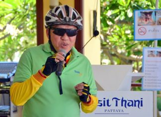 Dusit Thani Hotel General Manager Chatchawan Supachayanont, whilst preparing for his hotel's bike ride, suggests that if tobacco taxes were increased by 5 percent in 22 low-income countries, governments would have an extra $1.4 billion to spend.