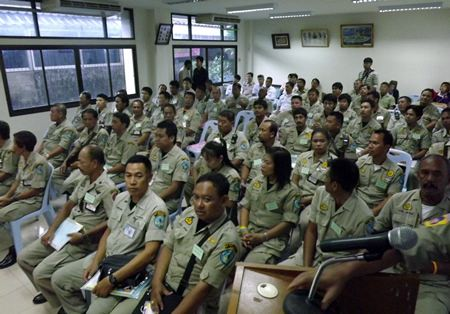 Another 50 area residents received training to become civil-defense volunteers in Pattaya.