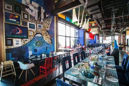 The Big Fish restaurant – a perfect dining out option .