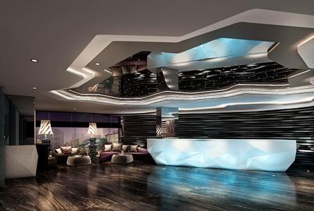 Centara Avenue Hotel Pattaya –lobby area.