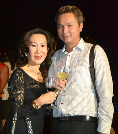 Jitmanee Siravithayavanich of Way Hotel Pattaya and Kamolphop Suksamarn of Nova Platinum Hotel Pattaya.
