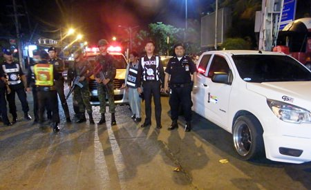 Police and military personnel managed to capture 20 of the modified pickups, and although the gang was noisy, members proved to be drug-free.