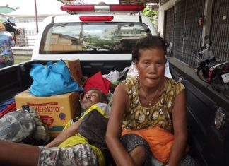 The offending couple was taken to the Mit Maitree Home in Soi Nongket Noi.