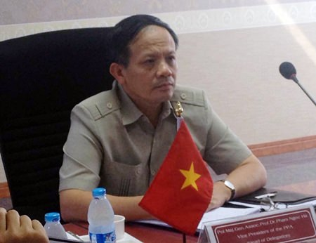 Pol. Maj. Col. Pham Ngoc Ha of the Vietnam People's Police Academy said he likely will adopt some guidelines used in Pattaya for Vietnamese policing in the future.