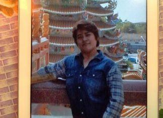 "Flower vendor Nanthida ""Nooch"" Khampamool just won 12 million baht in the government lottery."