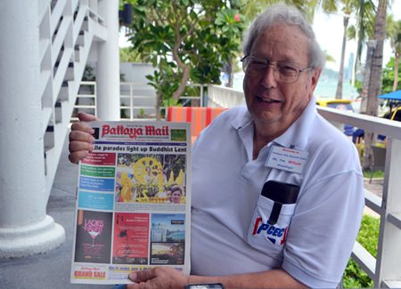 Wilson Fletcher congratulates Pattaya Mail on our 21stAniversary and wishes us to be with Pattaya expats for a long time.