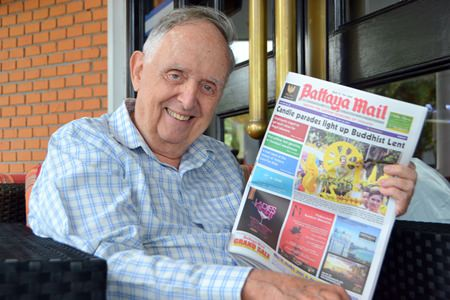 PCEC member Gary Hacker said that he has been reading Pattaya Mail newspaper every week since he came to live in Pattaya and said that Pattaya Mail is the best media for expats living in town and he wishes Pattaya Mail to be with Pattaya City forever.