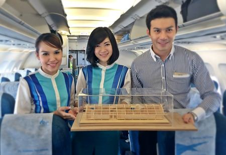 Bangkok Airways will contribute to the reconstruction of school buildings affected by the Chiang Rai earthquake, by providing air transportation to architects and staff involved in the rebuilding process.