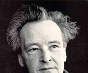 Composer Arthur Honegger.