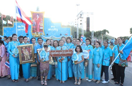 Pattaya Women's Development Group attends the ceremony