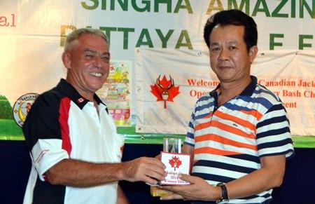 Capt. Dumrong (right) – winner of Division 2.