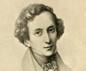Mendelssohn at 26 (Pencil Drawing by Mücke).