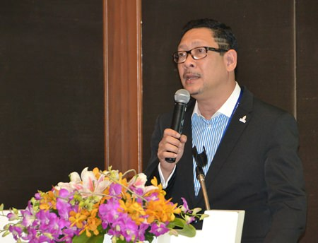 Puripan Bunnag, Thailand Convention & Exhibition Bureau's director of domestic MICE.