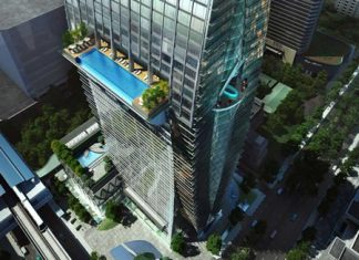 Park Ventures Ecoplex is one of a growing number of new commercial buildings in Bangkok that fully integrate green technology.
