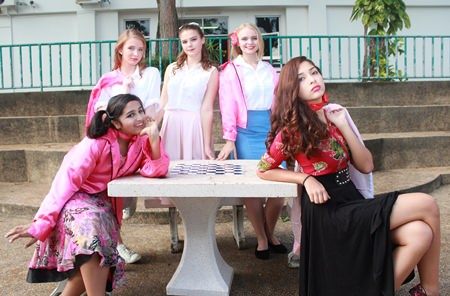 The GIS girls from Grease are ready to rock!